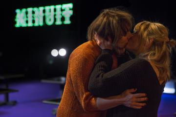 """©Marc Debelle - CLAIRE BODSON, LAURA SEPUL dans  """"Dernier lit"""", d'après Hugo Claus"""